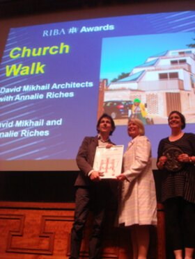 Winner of the BLP sponsored RIBA London Building of the Year Award