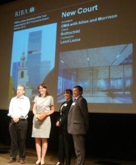 New Court – the Worthy Winner of BLP/RIBA London Building of the Year Award